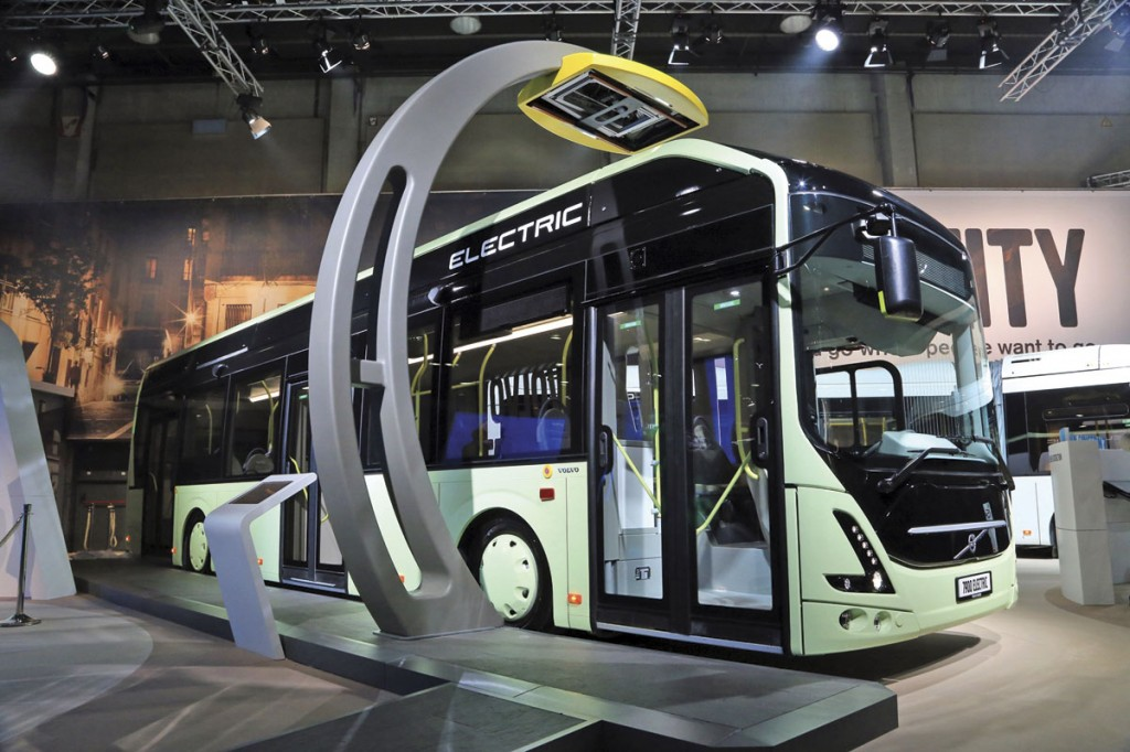 Volvo's full electric 7900