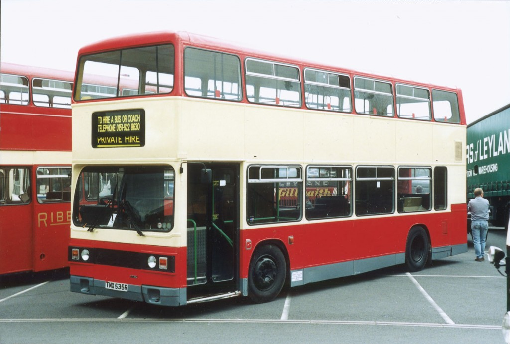 Adrian was shown a pre-production prototype of the Leyland Titan double decker by Bill Shirley when he went for his job interview at Park Royal. This is was another early example.