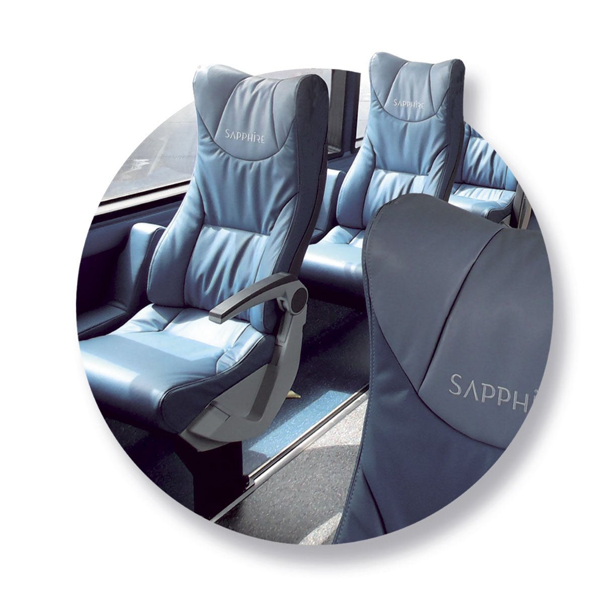 Arriva specified the colour and shape of the seats, the rest of the design was down to Ray and his team.