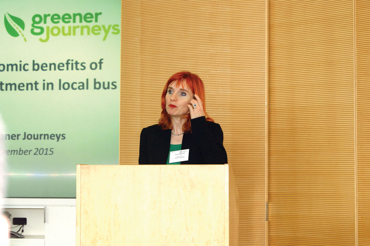 Greener Journeys' Claire Haigh.