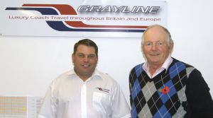 Grayline's new depot