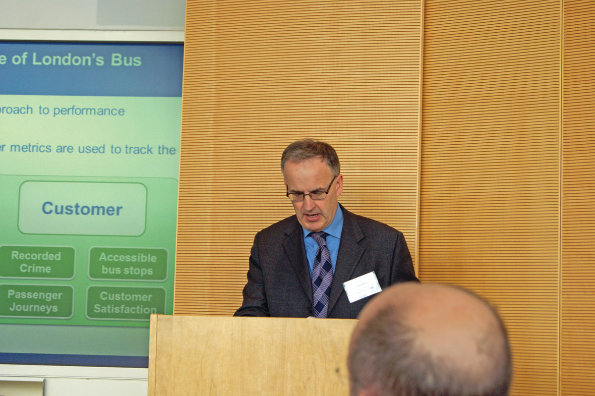 Mike Weston, Director of Buses, TfL.