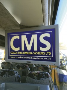 Onboard entertainment equipment from CMS.