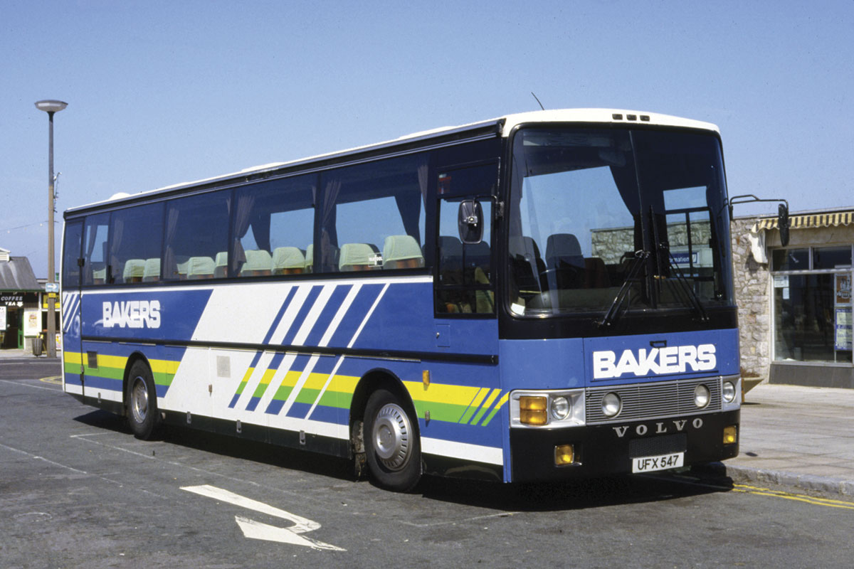 One of Ray's first liveries which is still used by bakers Dolphin on some of their current vehicles.