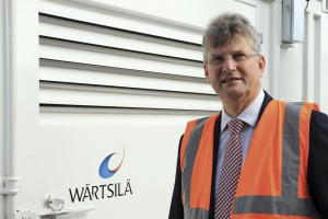 Peter Crowe, Sales Manager, Compression Business, Wärtsilä.