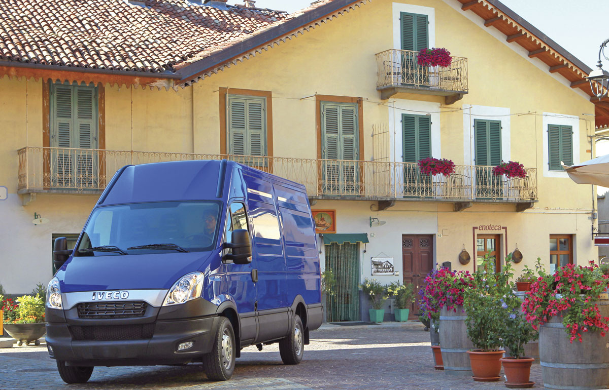 The Iveco New Daily introduced last year has radically different and rather more aggressive styling than its predecessor