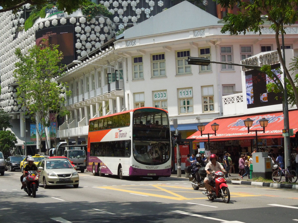 The Wright Bus for SBS Transit, Singapore