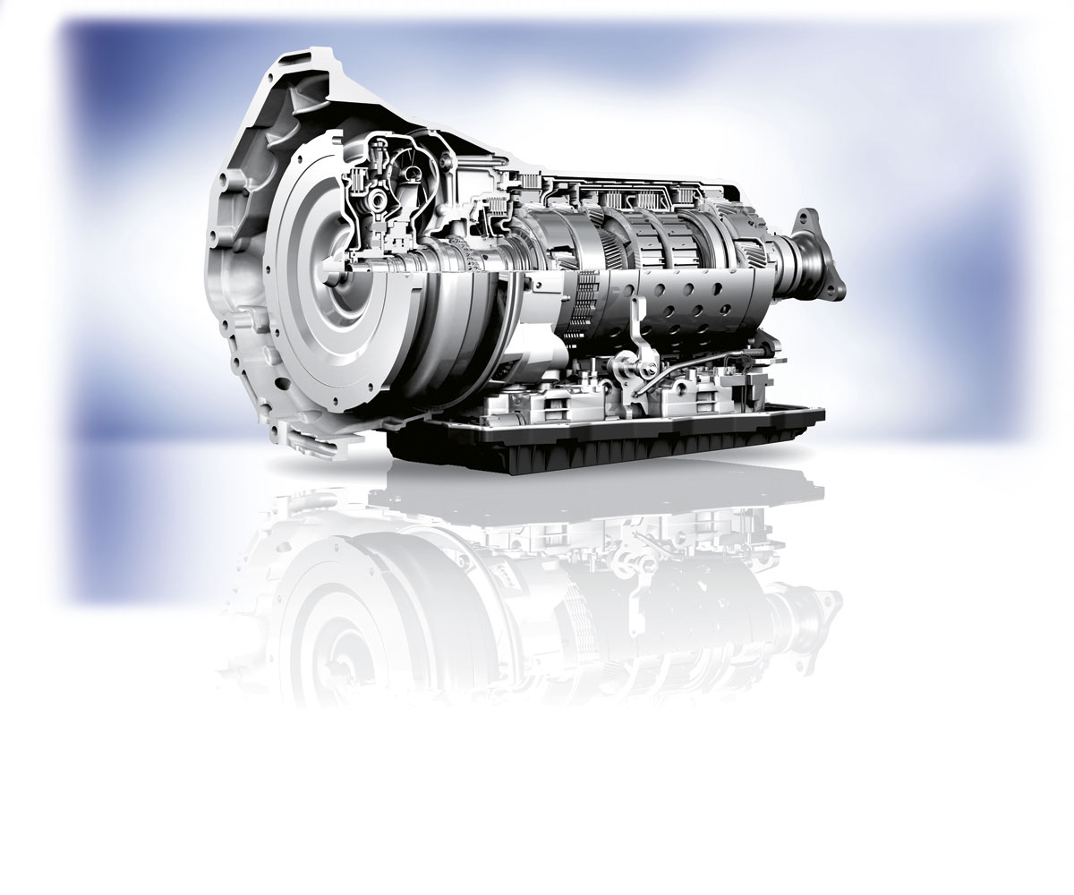 The new Hi-Matic eight speed automatic transmission developed by aoutstanding performance on the road and is available in three settings, urban, regional and international