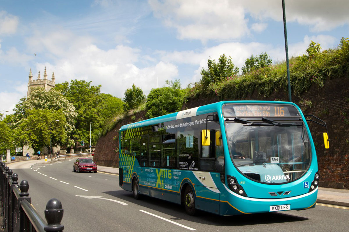 Wrightbus StreetLite with Flybrid for Arriva