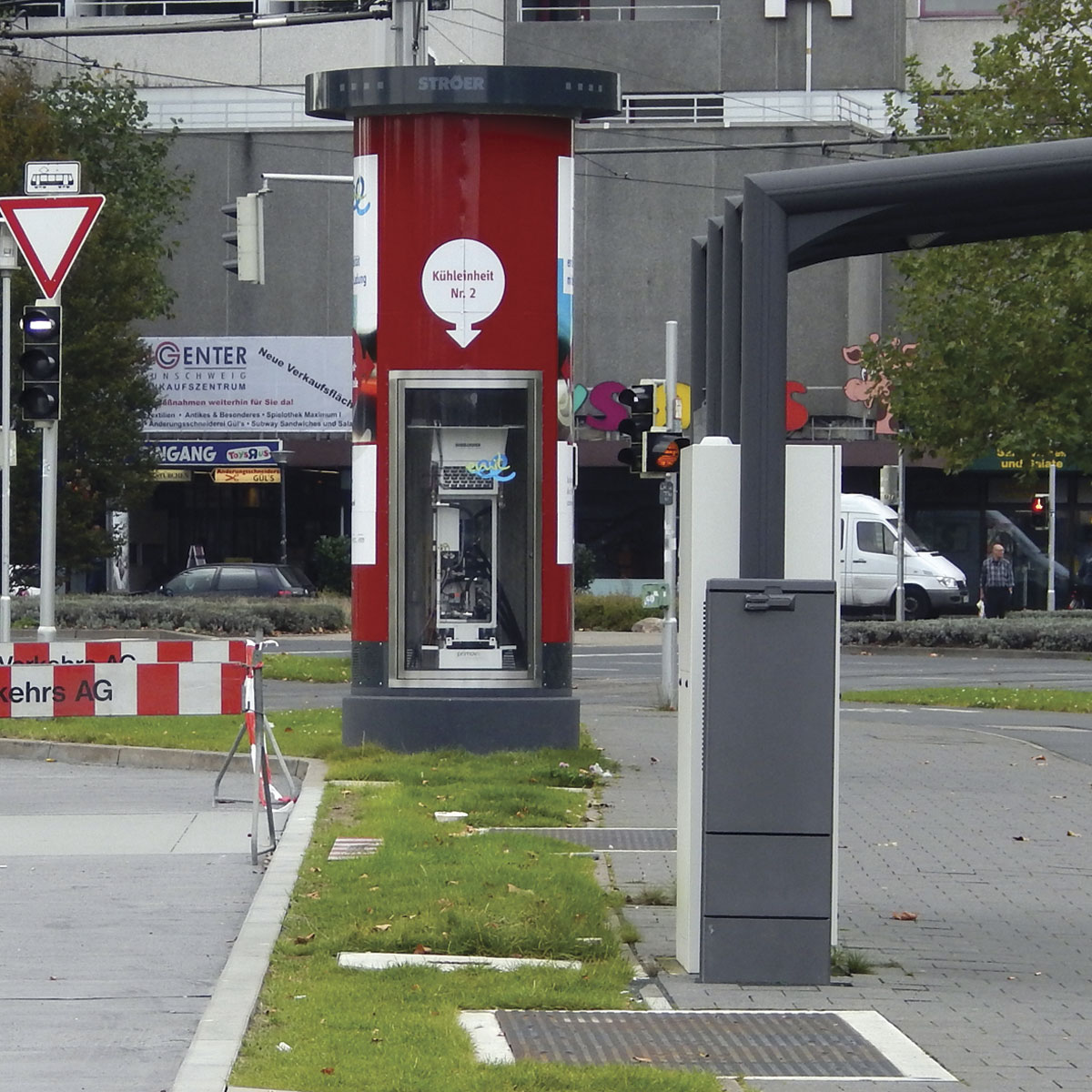 Braunschweig's induction charging station