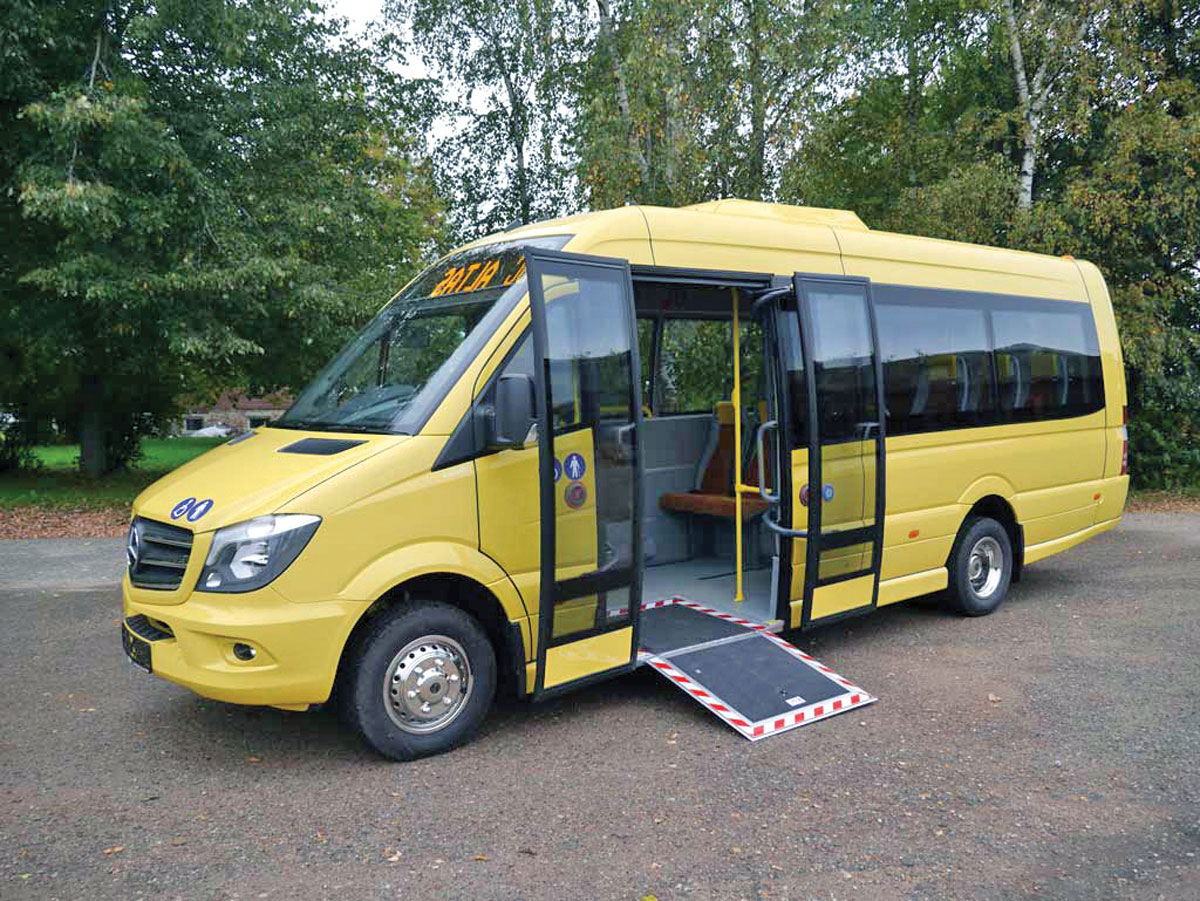 Improving Accessibility Bus Amp Coach Buyer
