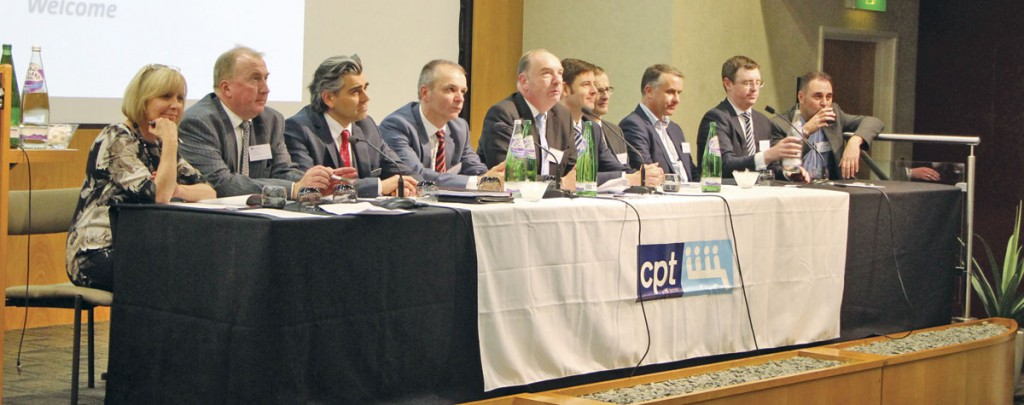The panel for the final session.