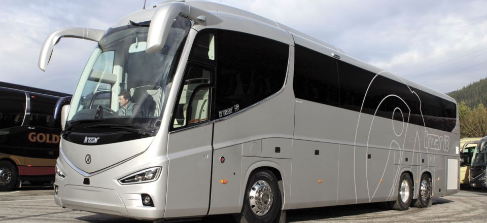 For the UK, the Irizar i8 Integral will be offered at 13.22m and 14.07m. All versions will be 3.98m high and powered by the DAF MX13 engine