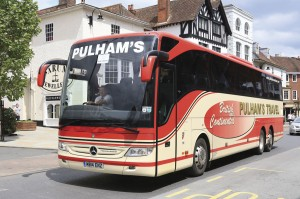 Imports make up the significant gap between demand and UK manufacturing capacity. Evobus products were amongst the first to be exclusively available to Euro6 including this Tourismo M supplied to Pulham's Travel.