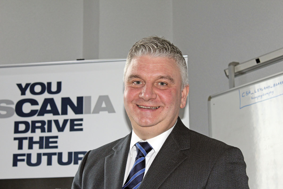 Scania UK Bus & Coach General Manager Fleet Sales, Mark Oliver