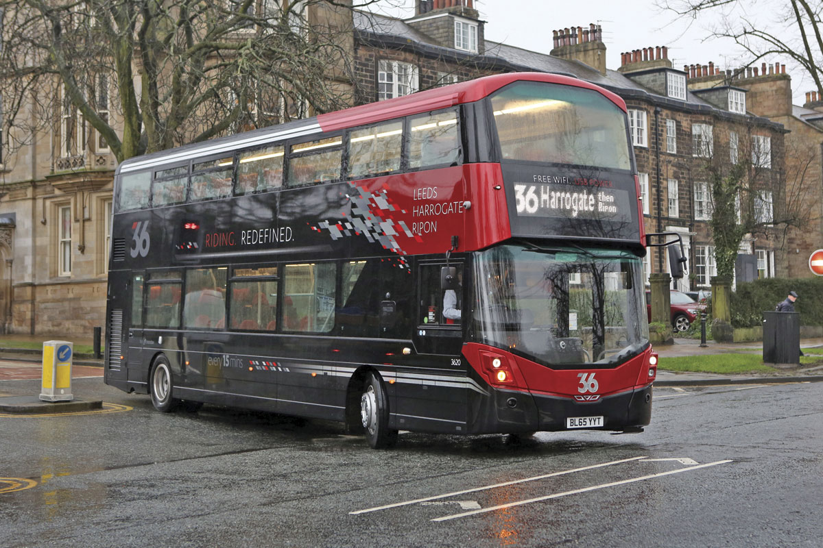 The 14 new buses represent a £3.3m investment.