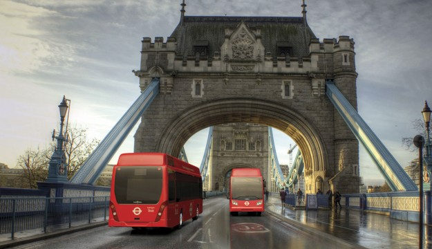 Van Hool: Two fuel cell buses for London . . .