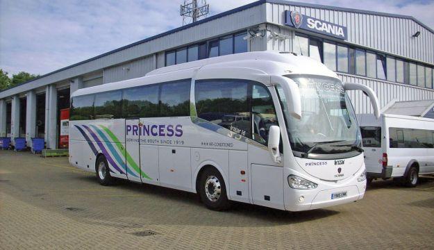 Scania Irizar for Princess