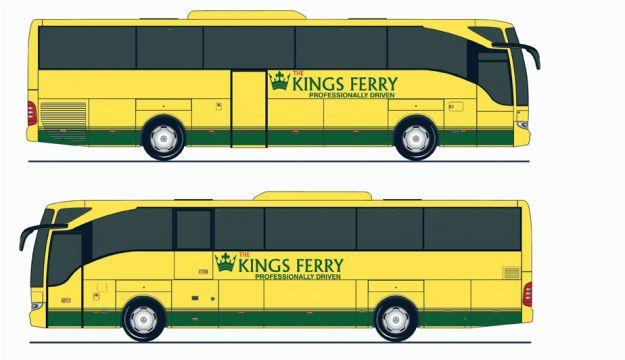 The Kings Ferry's new Tourismos
