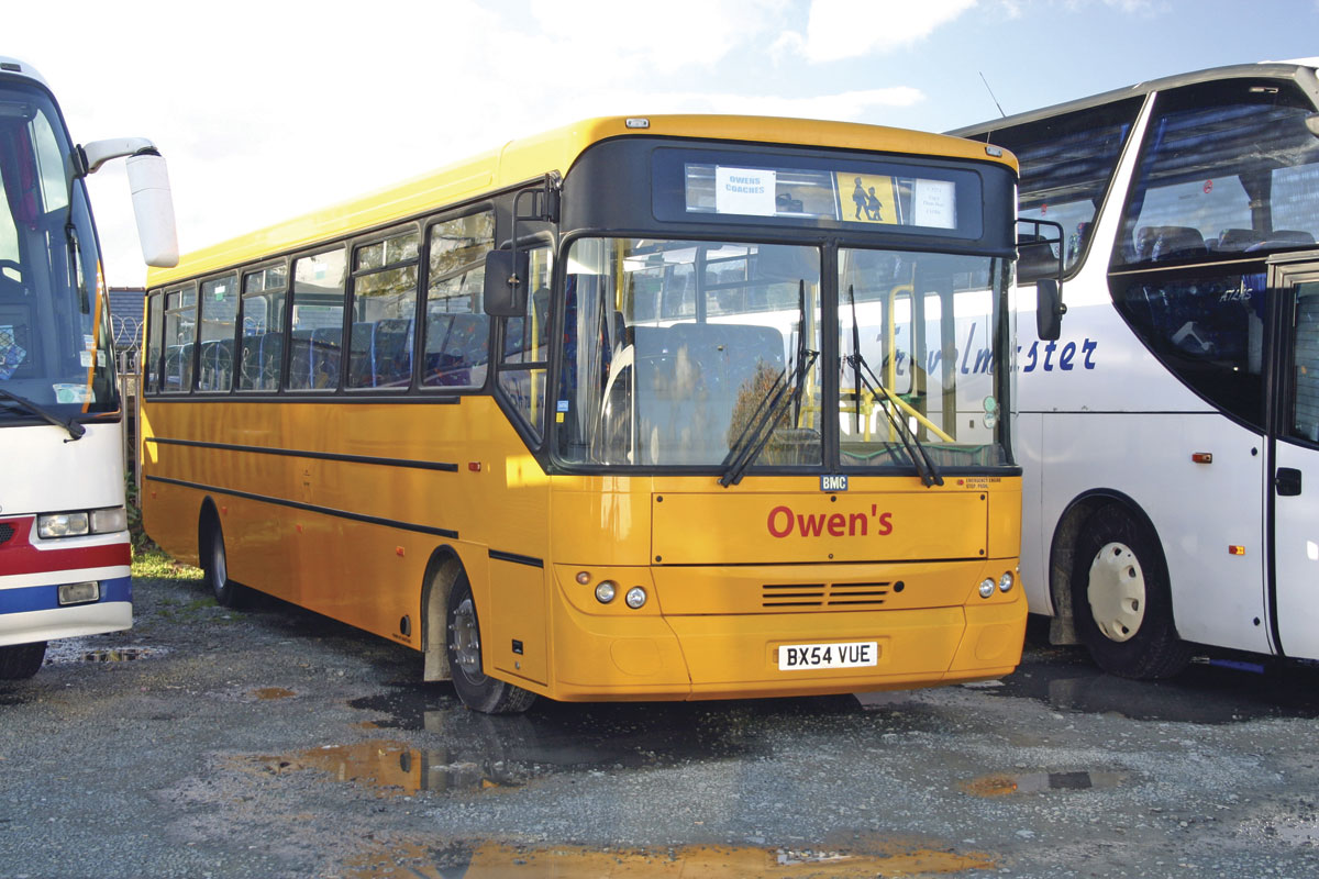 Owen's were a former BMC agent and still operate this dedicated school bus