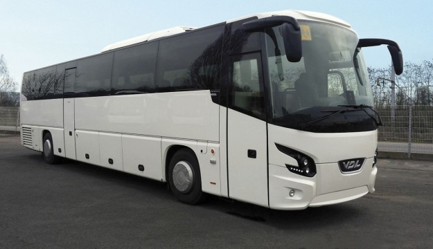 VDL first with two axle 13.5m