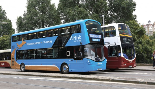 Service upgrades at Lothian Buses