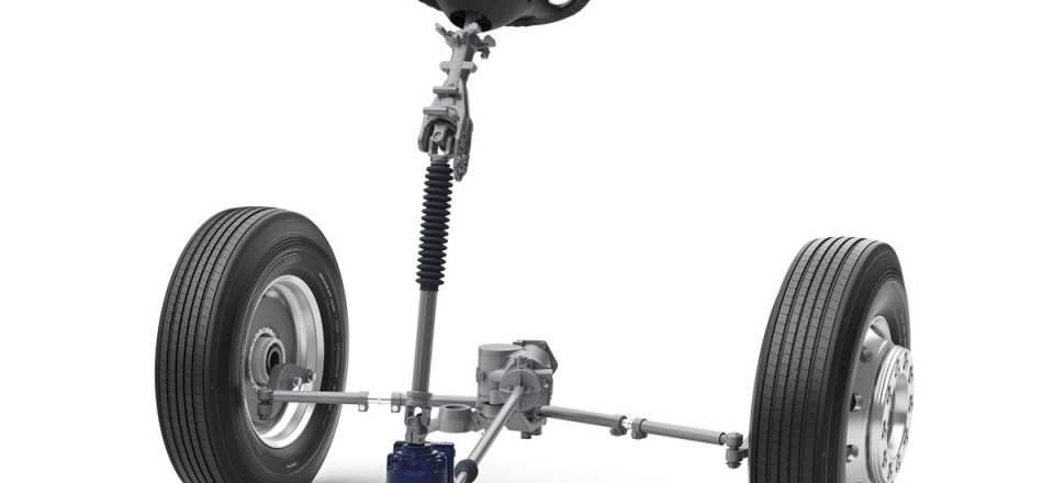 The VDS steering system layout on a B11R chassis with IFS independent front suspension