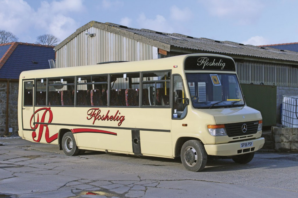 A Beaver 2 bodied Vario with coach seats