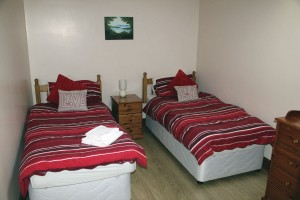 All bedrooms are finished with matching furnishings and linen