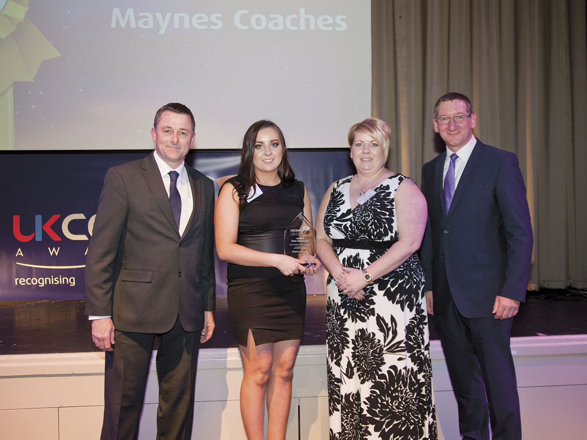 Buckie operator, Maynes Coaches, won Top Medium Fleet Operator.