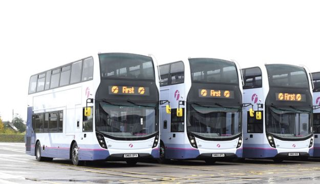 305 new vehicles for First