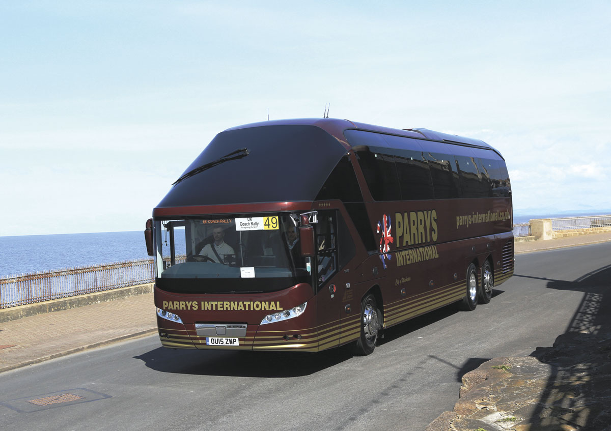 For the sixth year running, Parrys International Travel were recipients of the Coach of the Year accolade