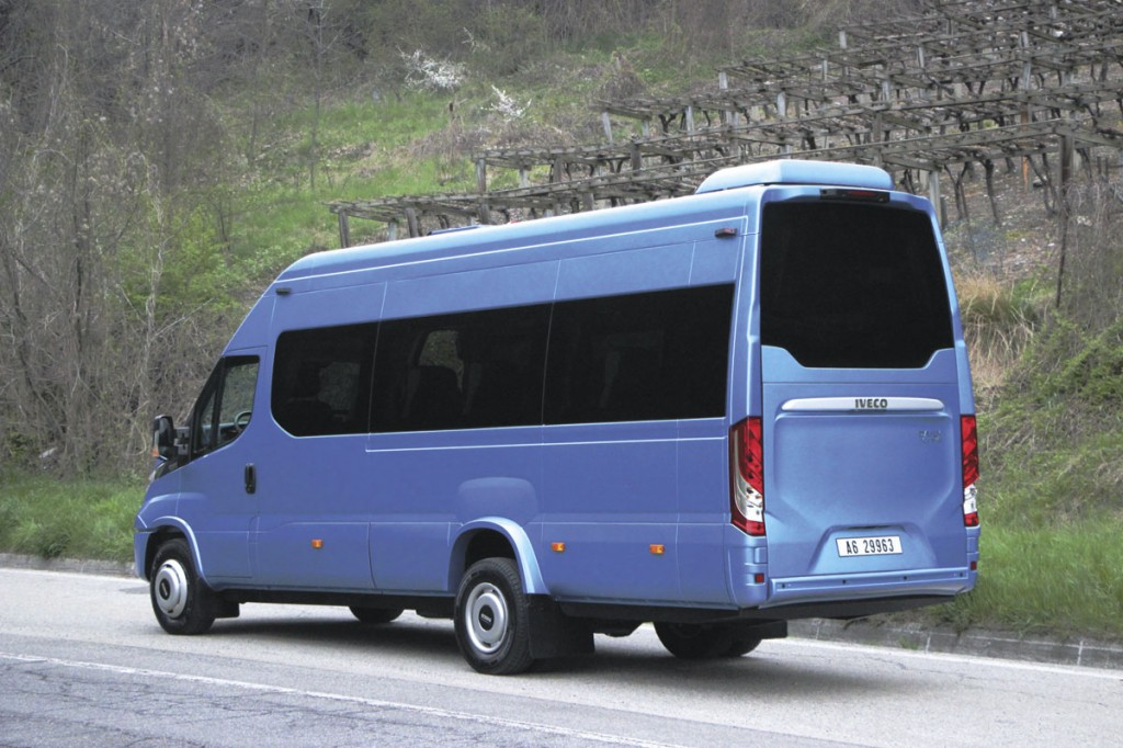 As standard, the Tourys has a coach rear with boot and large window.