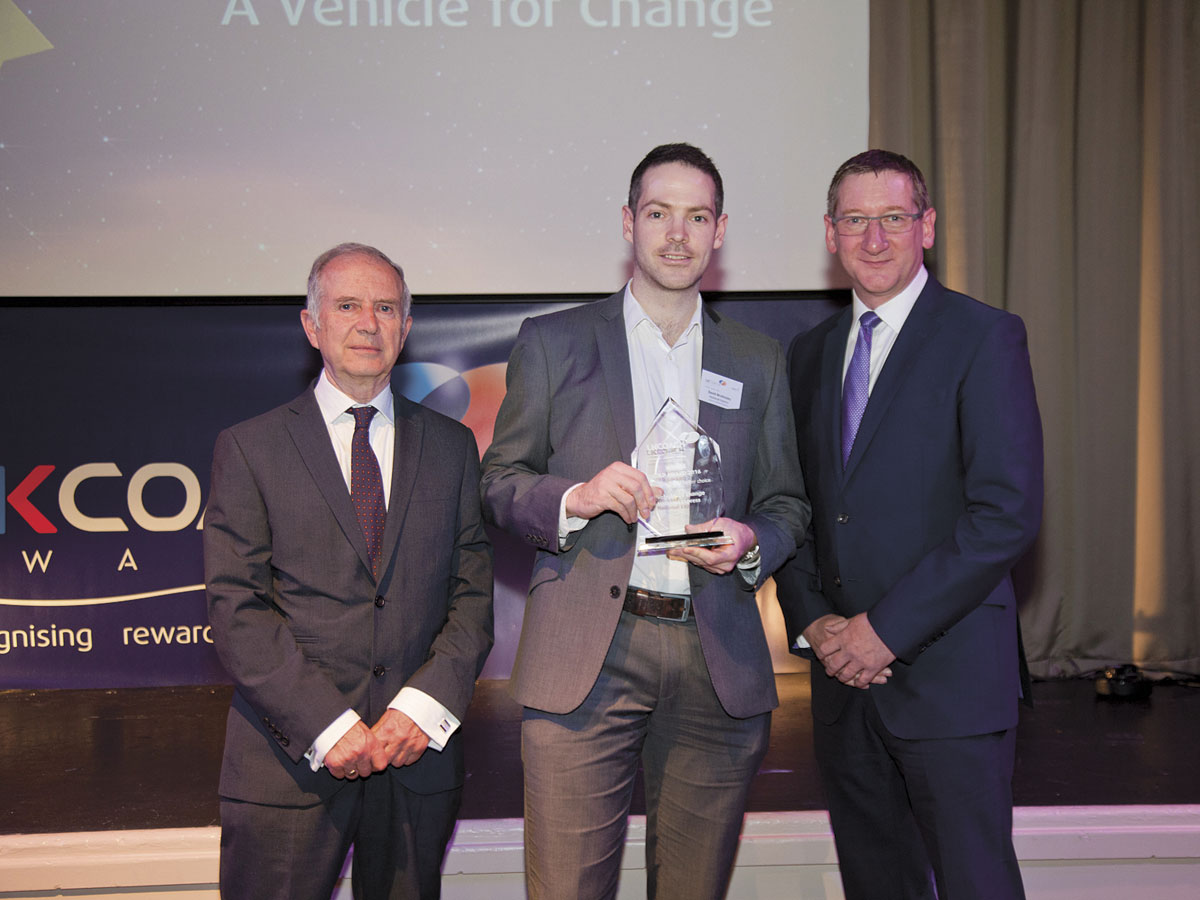 National Express scooped the top prize in the new category 'Making Coaches a Better Choice'.