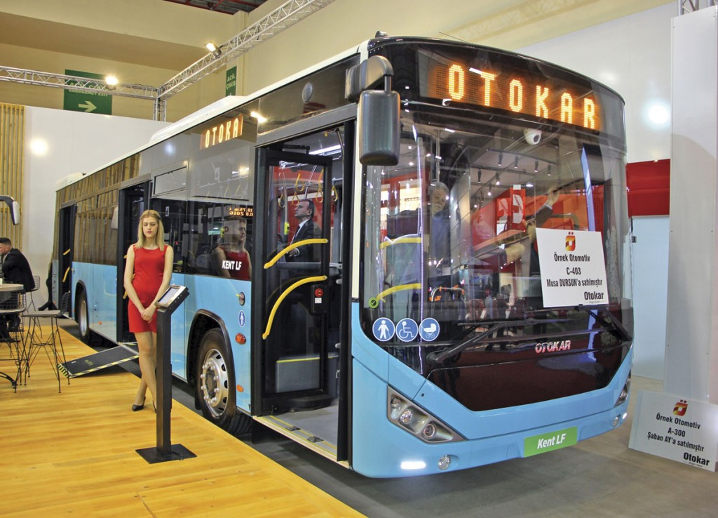 Otokar will shortly be delivering right hand drive Kents to Malta. This left hand drive version will operate in Istanbul
