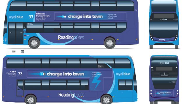 Reading's gas bus world first
