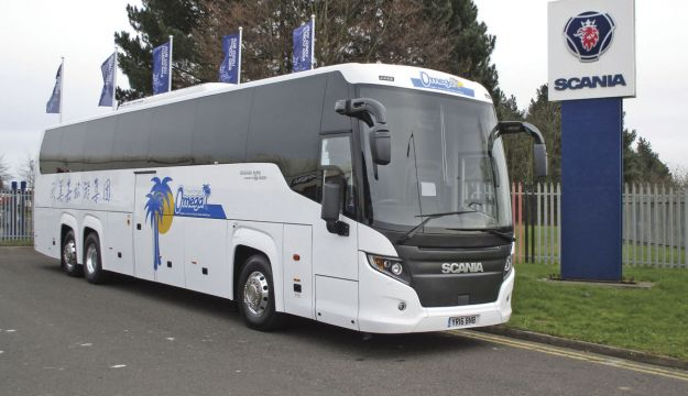Largest UK Scania Touring order