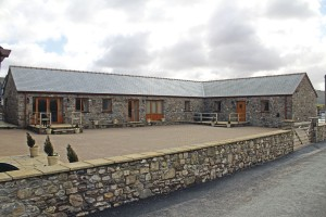 The two two-bedroomed barns adjoin each other
