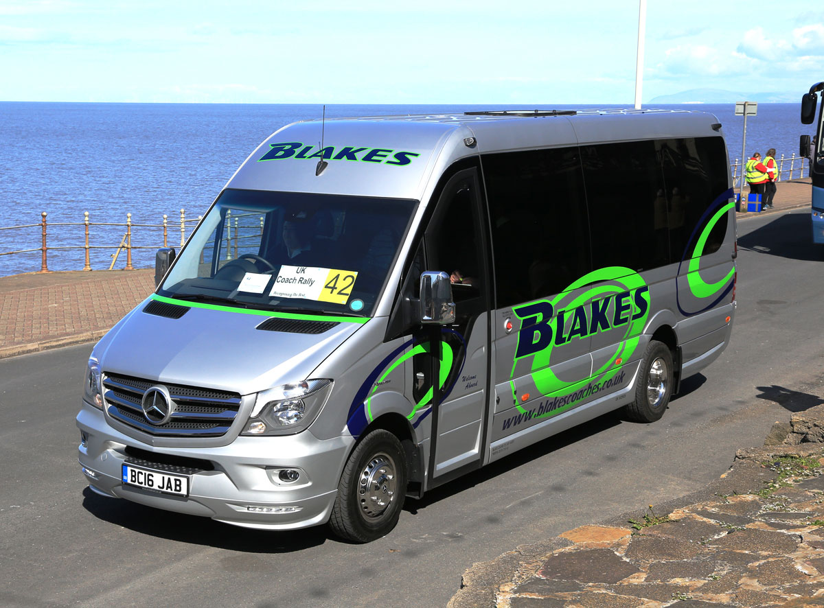 Top Mini/Midi Coach, Blakes EVM Sprinter X-clusive