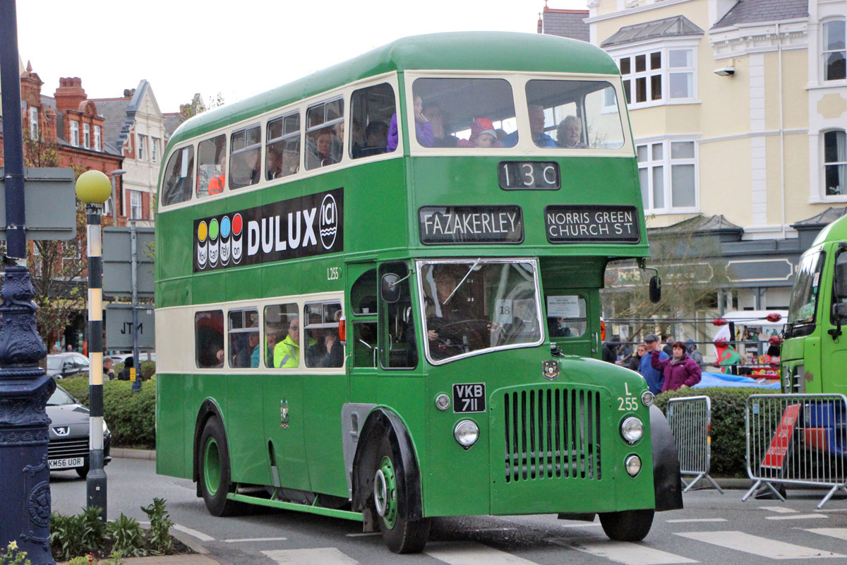 1956 Leyland PD2:20 with Crossley bodywork.