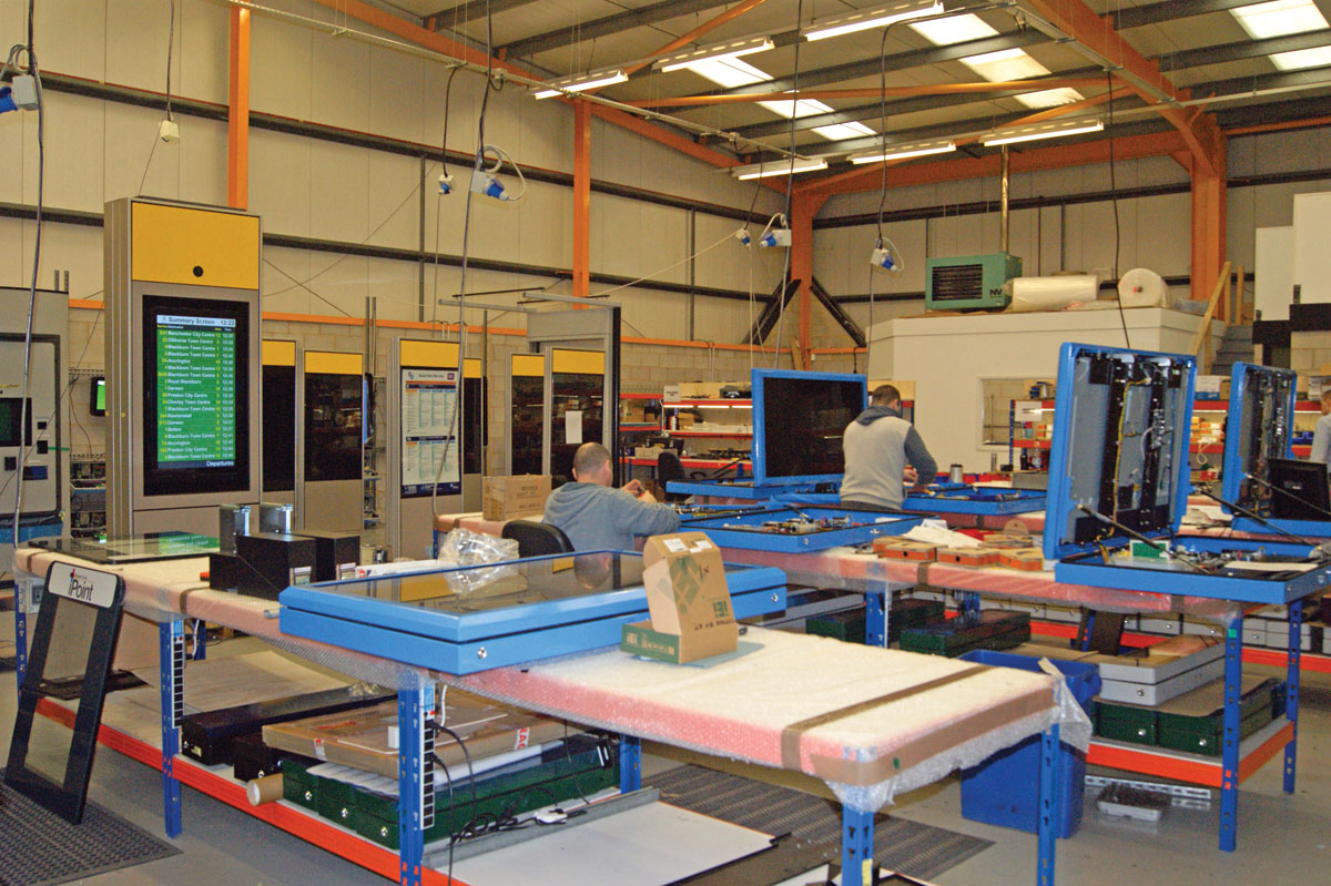 Inside the RSL manufacturing facility.