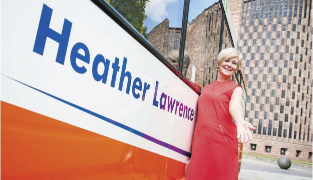 Micro-hybrid retrofit buses named after locals