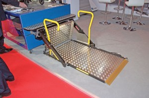 The BraunAbility is the new cassette lift from Unwin.