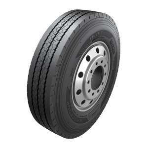 The Hankook AU03+ bus tyre.