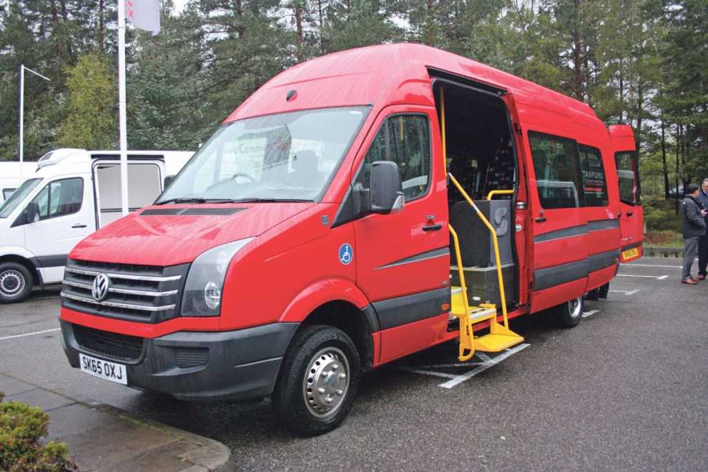 VW Crafter CR50 conversion by Stanford Coachworks.