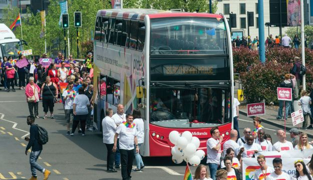 Nat Ex supports Birmingham Pride