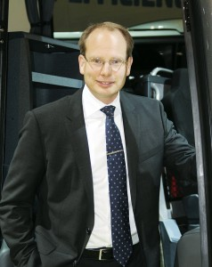 Hakan Agnevall, President of Volvo Bus