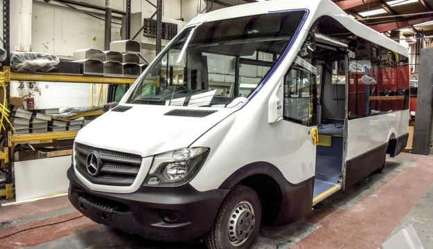 New low floor bus from Mellor