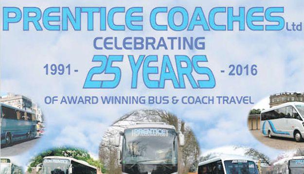 Prentice Coaches celebrate 25 years
