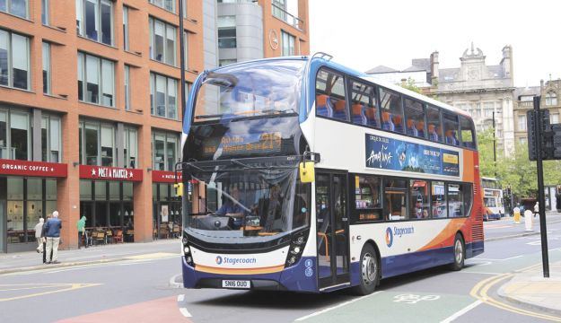 Stagecoach bus revenue stable